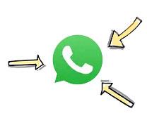 Whatsapp-logo-with-arrow
